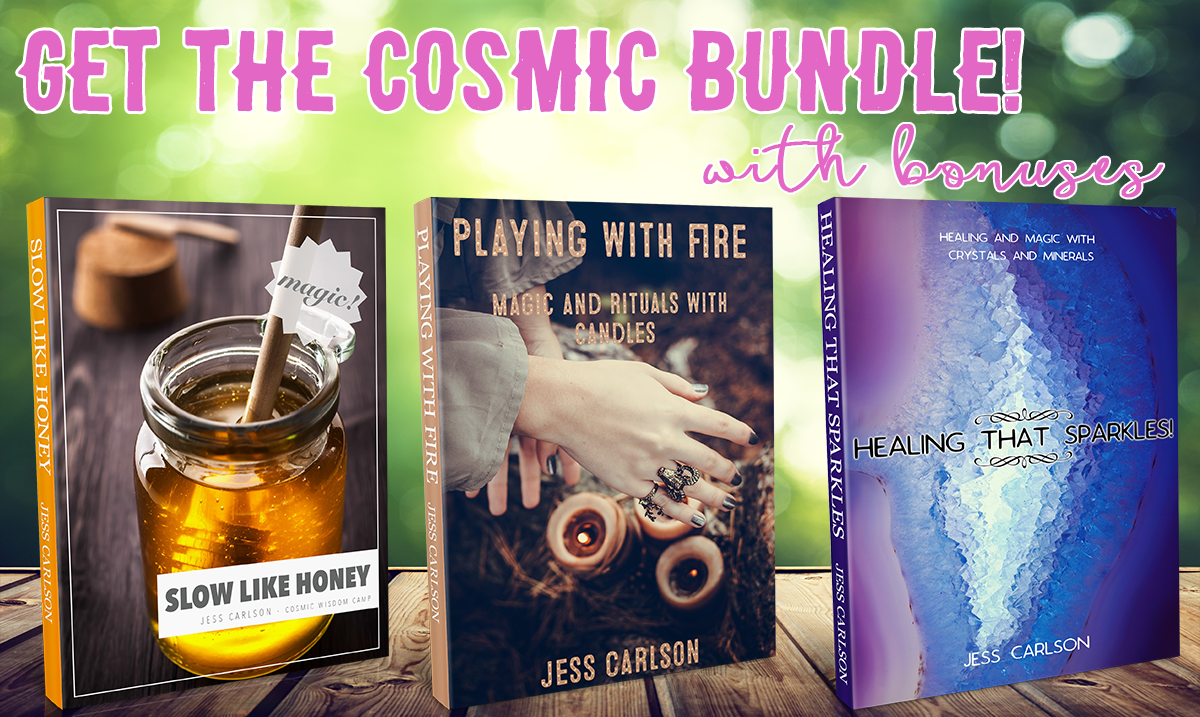 Get all 3 Cosmic Wisdom Camp ebooks plus bonuses!